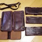 革財布のリメイク